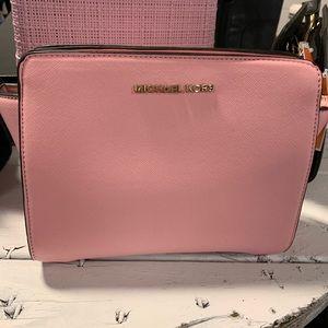 MK baby pink crossbody